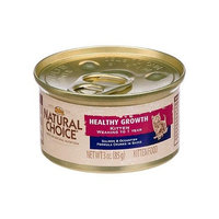 Natural Choice Cat Natural Choice Healthy Growth Kitten Salmon and Oceanfish Formula Chunks in Sauce Kitten Food Cans, 3-Ounce