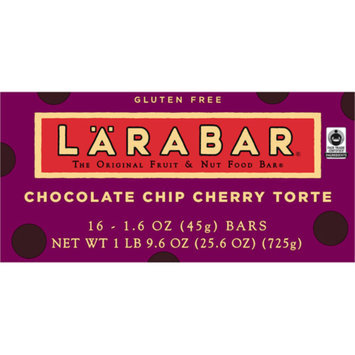 Larabar Fruit and Nut Food Bar Chocolate Chip Cherry Torte