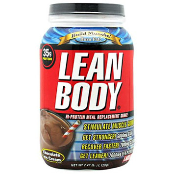 Labrada Nutrition Lean Body Hi-Protein Meal Replacement Shake Powder Chocolate