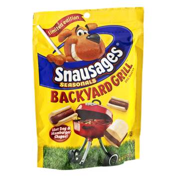 Snausages Seasonals Backyard Grill Dog Snacks