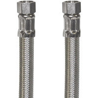 Certified Appliance 77905 Braided Stainless Steel Ice Maker Connector, 6'