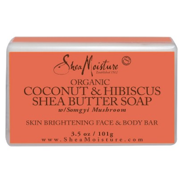 SheaMoisture Organic Coconut & Hibiscus Shea Butter Soap