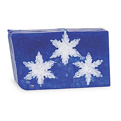 Primal Elements Wrapped Bar Soap, Snowflakes, 6.8-Ounce Cellophane (Pack of 2)