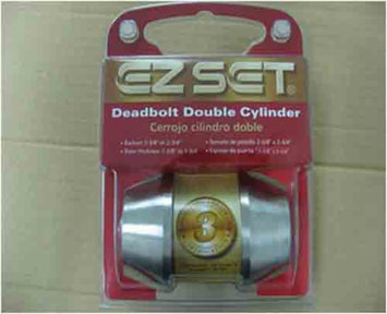 Kmart Door Lockset Deadbolt with Double Cylinders