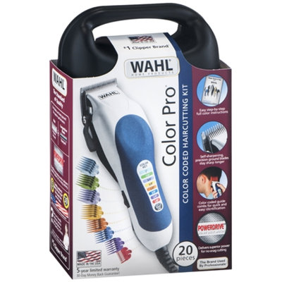 Wahl Color Pro Hair Clipper Kit