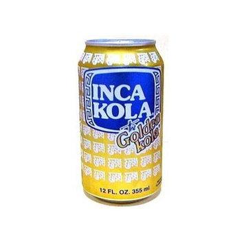 Inca Kola Soda Can 12 oz. Case of 6