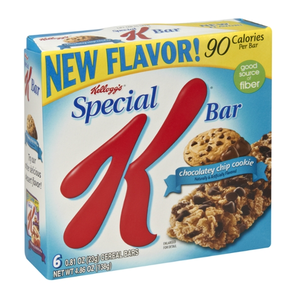Special K® Kellogg's Chocolatey Chip Cookie Cereal Bar