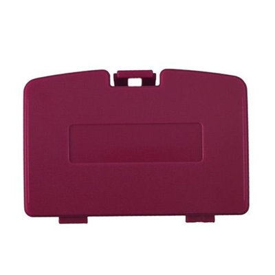 Third Party Replacement Battery Door Cover for Nintendo GBC - Red Berry