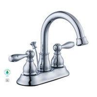 Glacier Bay Mandouri 4 in. Centerset 2-Handle High Arc Bathroom Faucet in Chrome