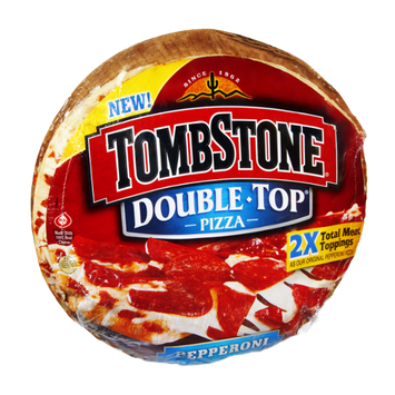 Tombstone Double-Top Pepperoni Pizza