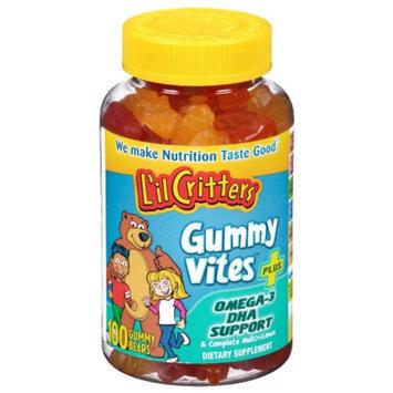 L'il Critters Gummy Vites Plus Omega-3 DHA Support Vitamins - 100