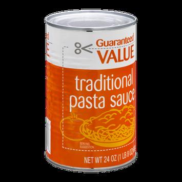 Guaranteed Value Traditional Pasta Sauce