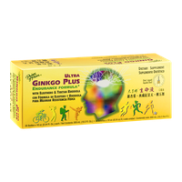 Prince of Peace Ultra Ginkgo Plus Endurance Formula Dietary Supplement - 30 CT