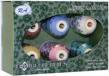 Robison-anton Robison-Anton Thimbleberries Spring Cotton Thread Collection - 6 Count Multi