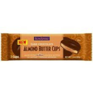 Sunspire Dark Chocolate Almond Peanut Butter Cups 1.2oz