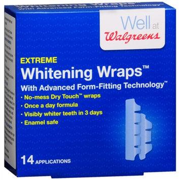 Walgreens Extreme Whitening Wraps, 14 ea