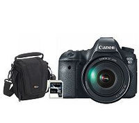 Canon EOS 6D 20.2MP Wi-Fi DSLR Camera w/ EF 24-105mm Lens