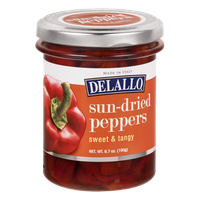 Delallo Sun-Dried Peppers Sweet & Tangy