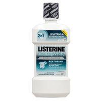 LISTERINE Whitening Plus Restoring Post-Brush Fluoride Rinse