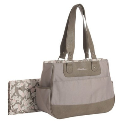 Eddie Bauer Fashion Tote Diaper Bag - Tan