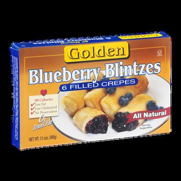 Golden Blueberry Blintzes - 6 CT