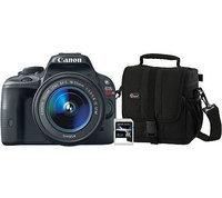 Canon EOS Rebel SL1 18MP Digital Camera w/Lens, Bag & 8GB Card