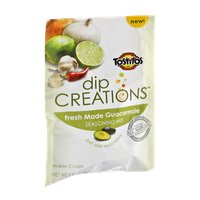 Tostitos Dip Creations Fresh Made Guacamole Seasoning Mix