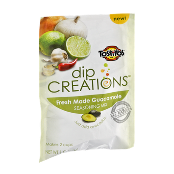 Tostitos Dip Creations Fresh Made Guacamole Seasoning Mix