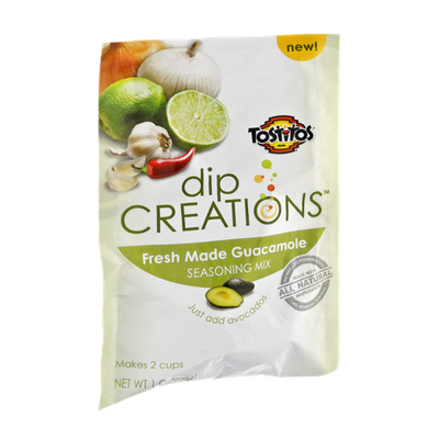 Tostitos® Dip Creations Fresh Made Guacamole Seasoning Mix