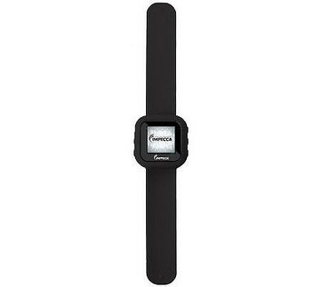 Impecca Slap Watch 8GB MP3 Player w/ Pedometer & Headphones