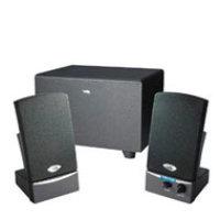 Cyber Acoustics Studio Multimedia Speaker System 2.1-channel - Black
