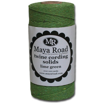 Sentron Twine Cording 100 Yards/Roll Lime Green