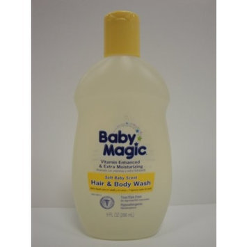 Baby Magic Soft Baby Scent Hair & Body Wash 9 FL OZ