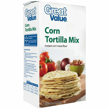 Great Value Corn Tortilla Mix