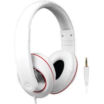 Dreamgear Dghp-4007 Ultimate Dj Style Headphones, White