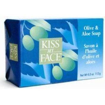 Kiss My Face Pure Olive Oil 4oz Soap Bonus Pack 3 bar