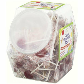 Yummy Earth Organic Vitamin C Pops Counter Bin 150 Pops