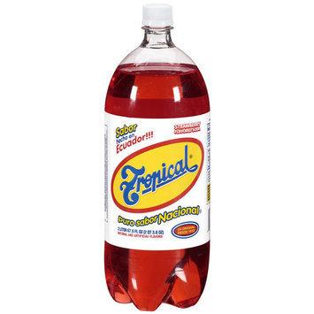 Tropical Strawberry Flavored Soda, 67.6 oz