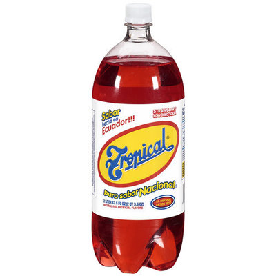 Tropical Strawberry Flavored Soda, 67.6 oz
