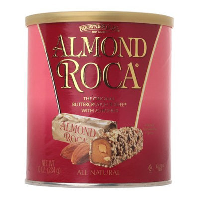 Brown & Haley Almond Roca Buttercrunch Toffee w/ Chocolate and Almonds