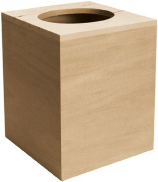 Walnut Hollow Basswood Boutique Tissue Box