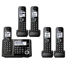 Panasonic Link2Cell Bluetooth Cordless Phone - Black