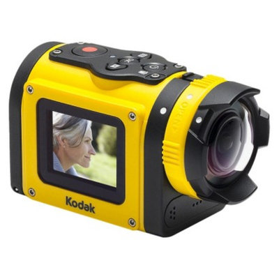 Kodak SP1-YL3 14MP Digital Action Camera Kit with CMOS and 1.5-Inch