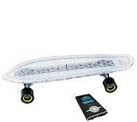 Hipstreet Minicruiser LED Skateboard Bundle with MP3 Player