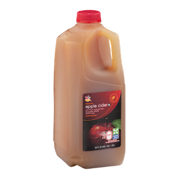 Ahold Premium Apple Cider not from Concentrate, no sugar added 100% Juice, Pasteurized