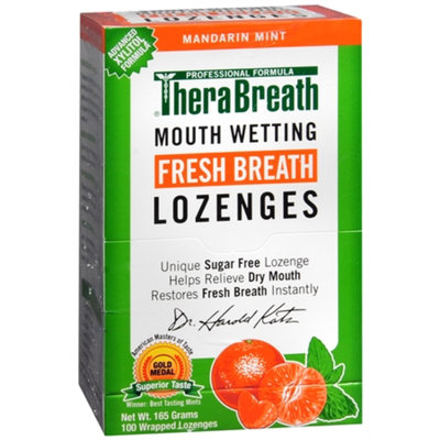 TheraBreath Mouth Wetting Lozenges
