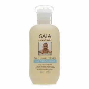 Gaia Natural Baby Hair & Body Wash