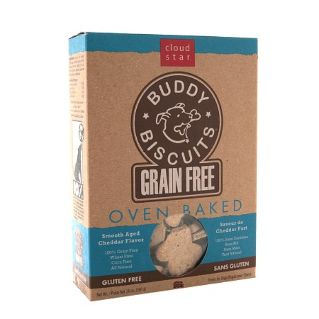Cloud Star Grain Free Oven Baked Buddy Biscuits Dog Treats