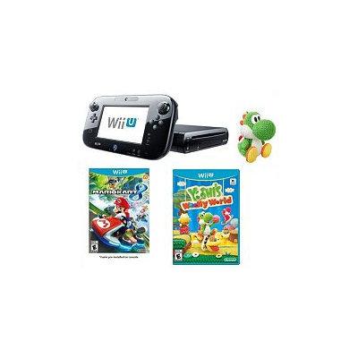Nintendo Wii U w/ Mario Kart, Yoshi's Woolly World & amiibo