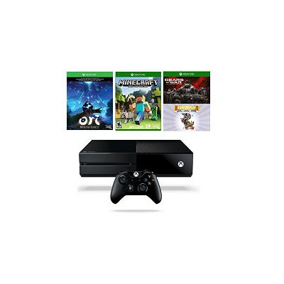 Microsoft Corp. Xbox One 1TB Bundle - Minecraft, Gears of War aad 2 More Games